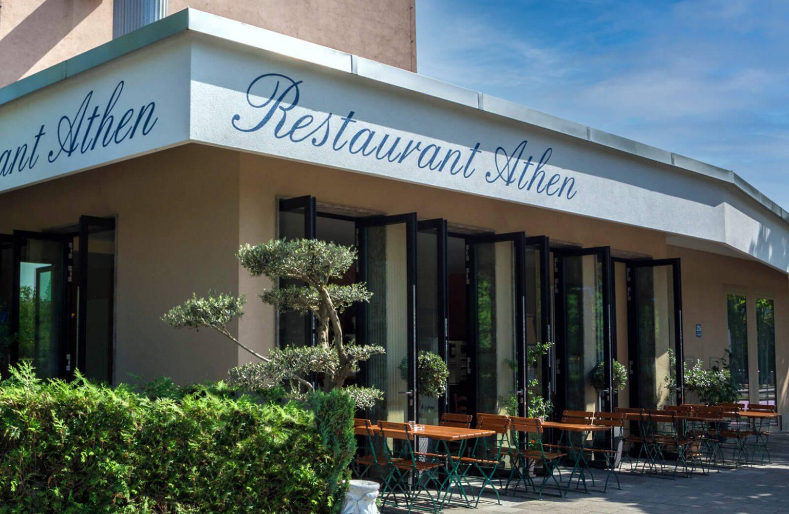 Restaurant Athen Aussenansicht